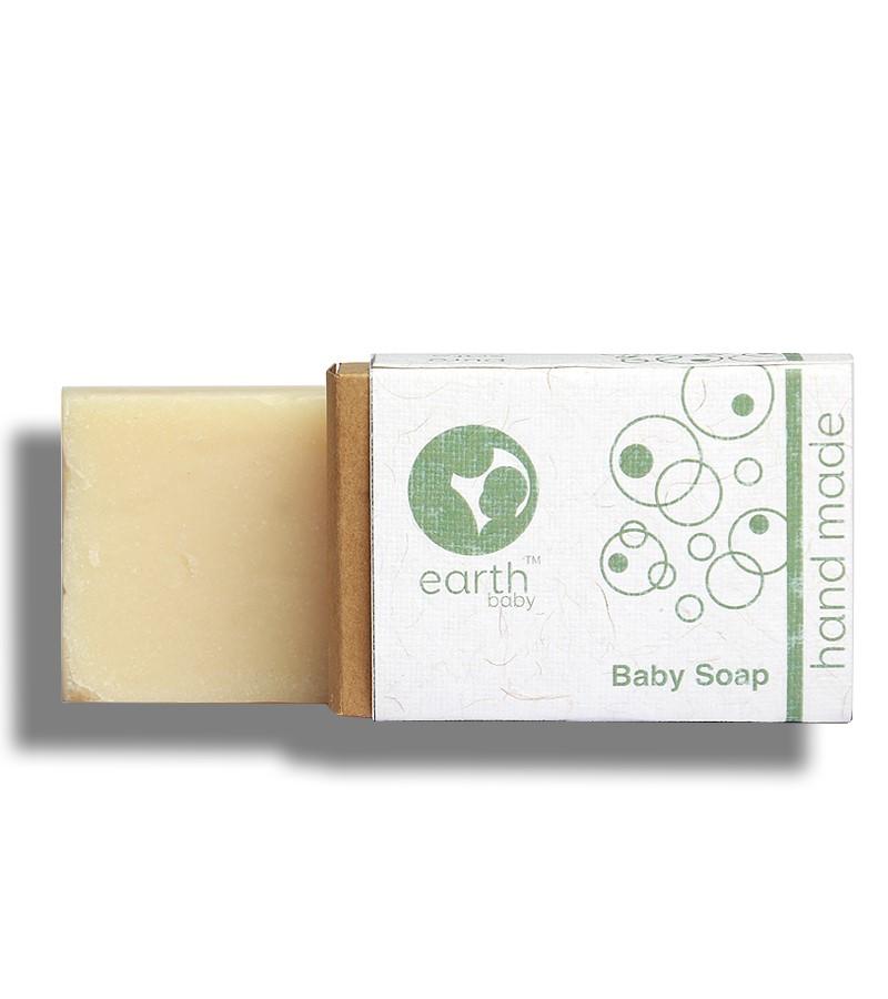 earthBaby + baby bath & shampoo + Handmade Baby Soap + 100 gm + shop