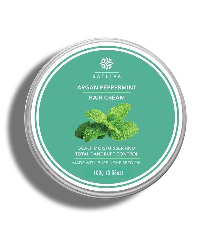 Satliva + hair masks + Argan Peppermint Hair Cream + 100g + buy