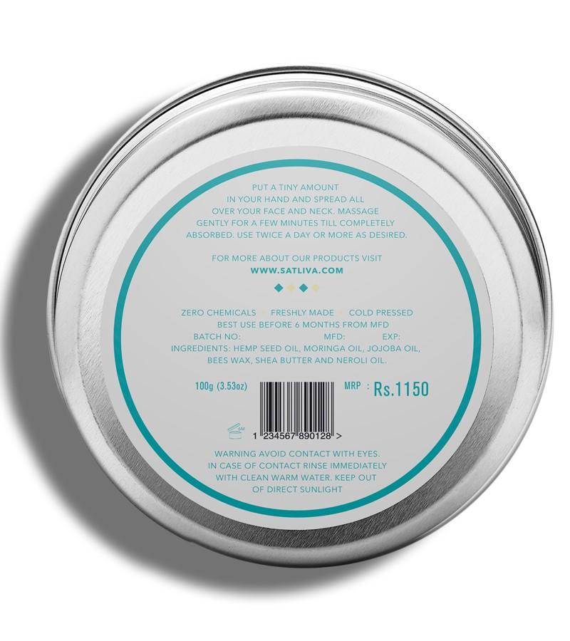 Satliva + body butters + creams + Hemp with Neroli body butter + 100g + discount