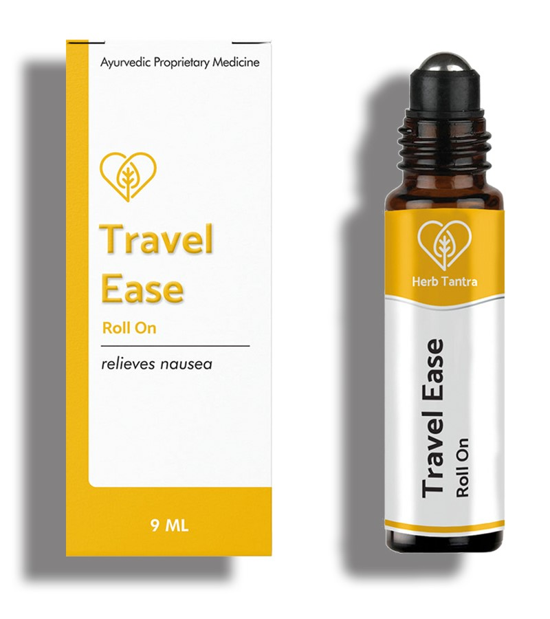 Herb Tantra + pain relief + Travel Ease Motion Sickness Relieving Roll-On + 9 ml + shop
