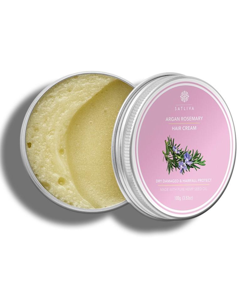 Satliva + hair masks + Argan Rosemary Hair Cream + 100g + shop