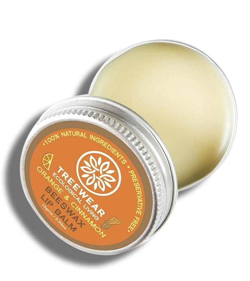 Treewear + lip balms & butters + Beeswax Lip Balm - Orange & Cinnamon + 15 gm + buy