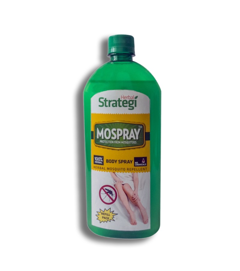 Herbal Strategi + insect repellents + Mosquito Repellent Body Spray + 500 ml + buy