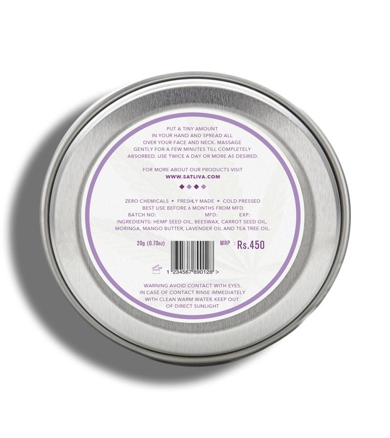 Satliva + face serums + face creams + Mango Lavender Face Cream + 20g + discount