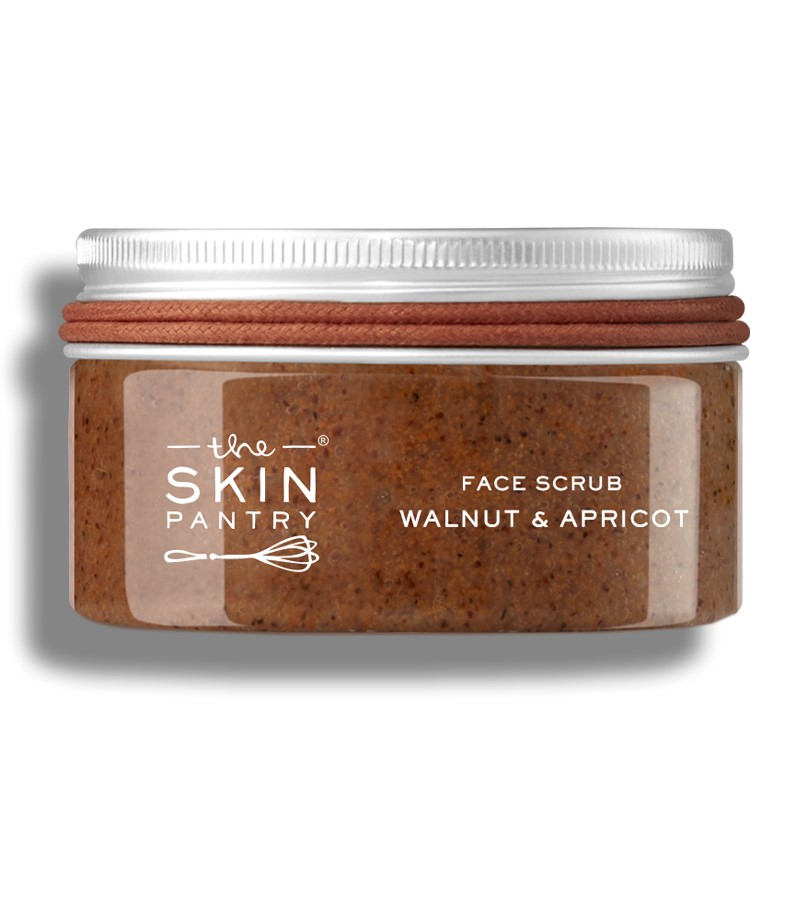 The Skin Pantry + face wash + scrubs + Gentle Face Scrub Walnut & Apricot For All Skin Types + 100 ml + buy