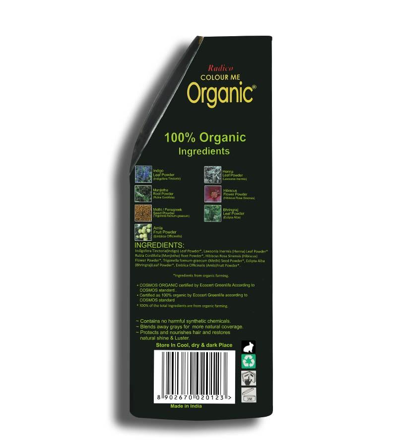 Radico + hair colour + Certified Organic Hair Color Dye -Brown Shades + Copper Brown (100 gm) + shop